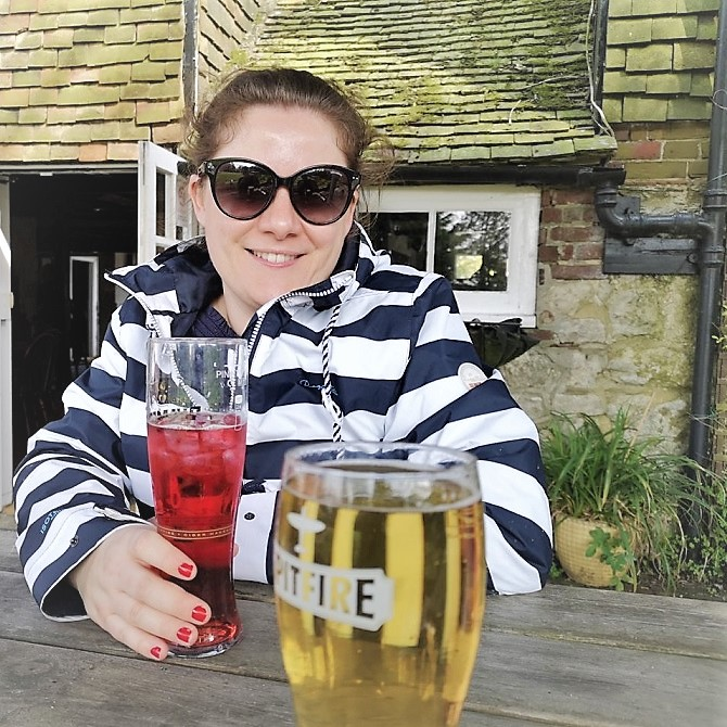 April 2019, Easter Break, Family Time, In the Garden, Month Highlights, The Frenchie Mummy, At the Pub