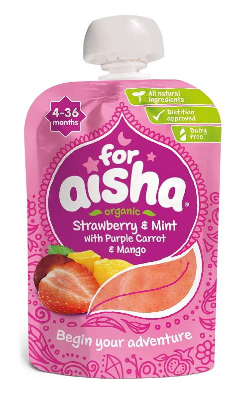 For Aisha, Halal Baby Food, Baby Pouches, Weaning, Blog Anniversary Giveaway, Win, The Frenchie Mummy