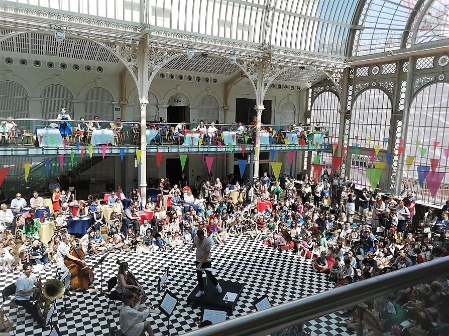 Royal Opera House Family Sundays, Beat Out That Rhythm, Family Day Out, In London with Kids, Opera, Royal Opera House, the Frenchie Mummy