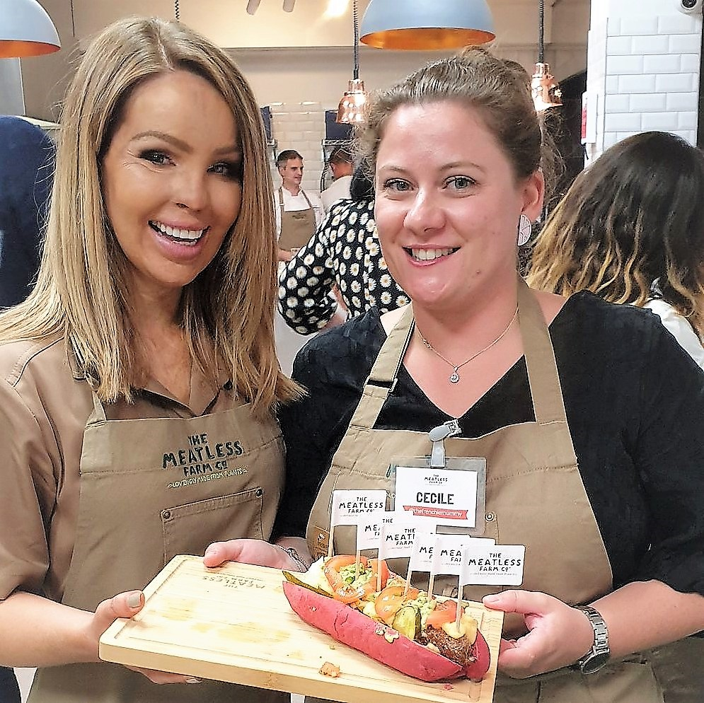 July 2019, Monthly highlights, Meatless Farm, Cooking, Katie Piper