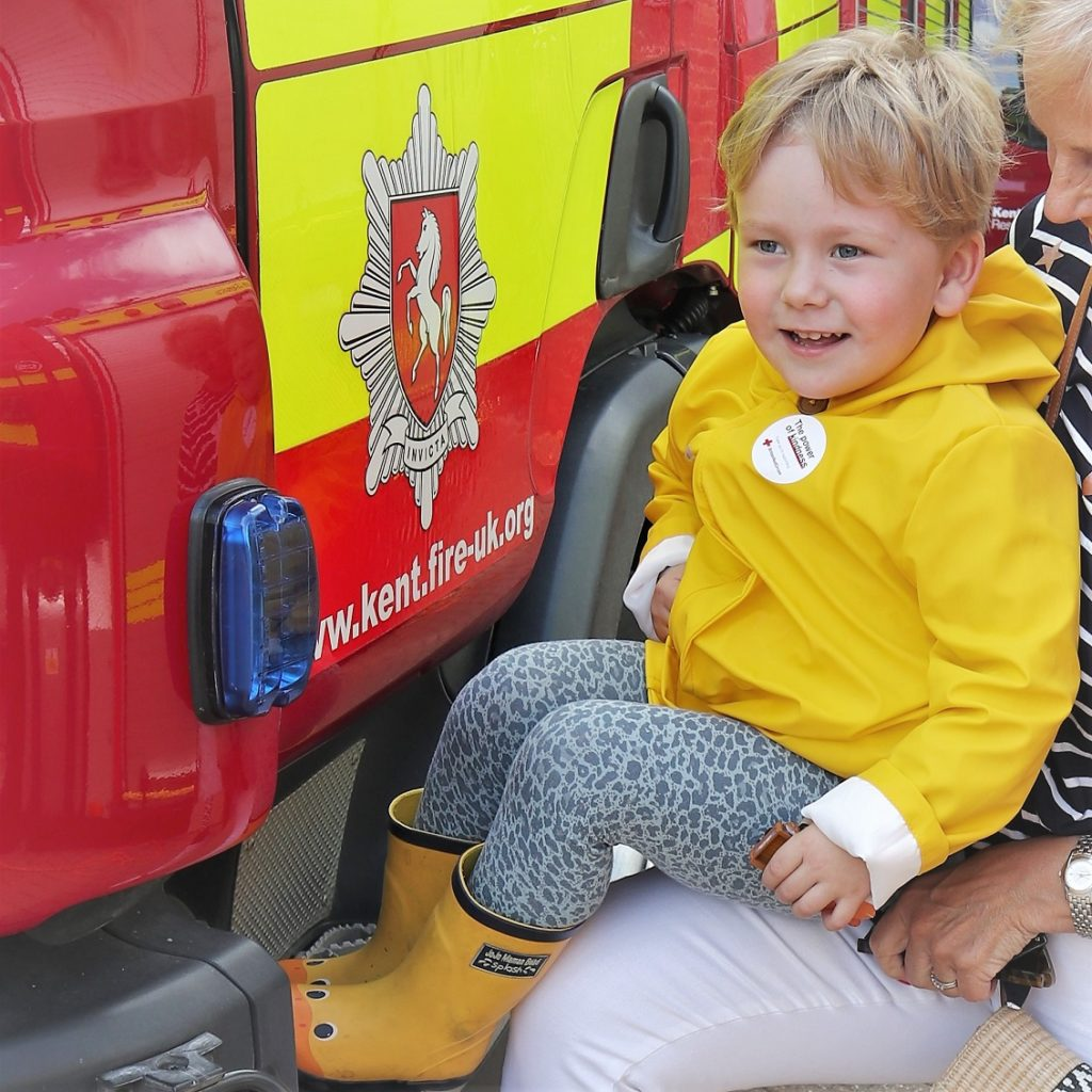 July 2019, Monthly highlights, Kent Fire Rescue Service, Family Day Out