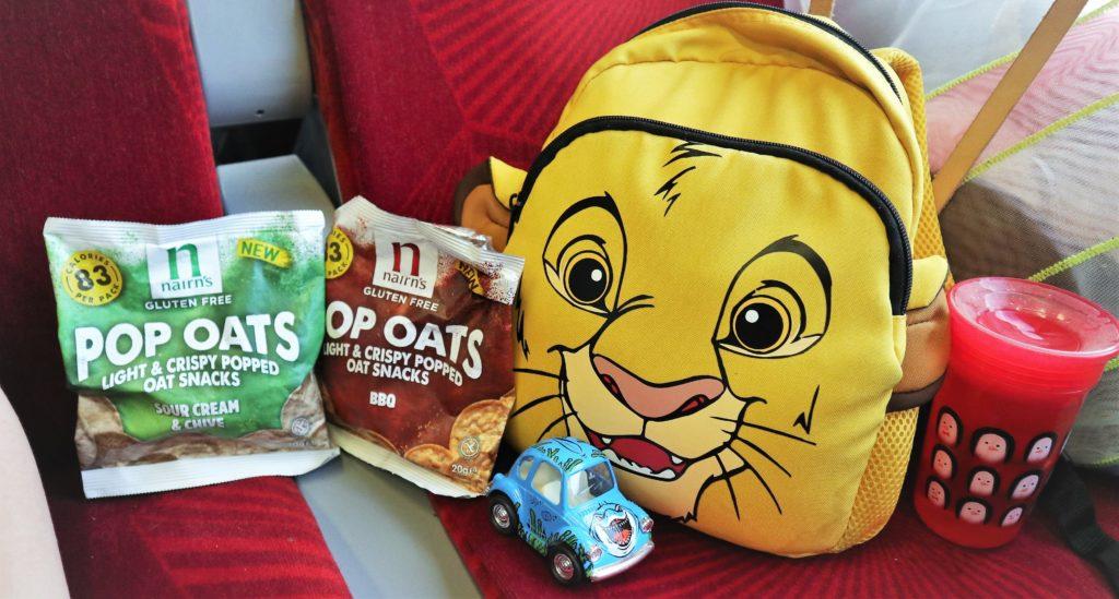 Gluten-Free Nairn's Pop Oats Snacks, Gluten-Free Snacks, Pop Oats, Nairn's, Kids Snacks. Lunchbox Ideas, The Frenchie Mummy