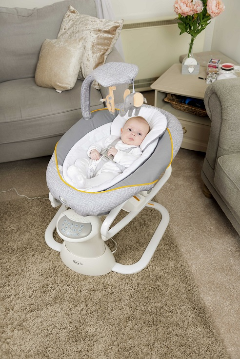 Graco All Ways Soother Swing, Baby Rocker, Bouncer, Baby Product, Win, the Frenchie Mummy, Christmas Giveaway, Graco