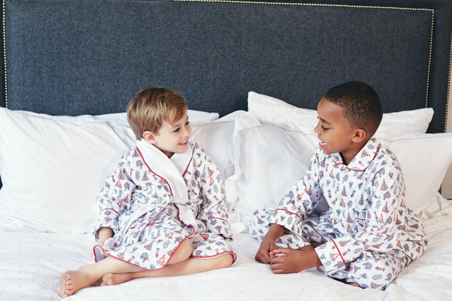 Em & Lu, Children's Nightwear, Classic English Styles, Win, Christmas Giveaway, The Frenchie Mummy