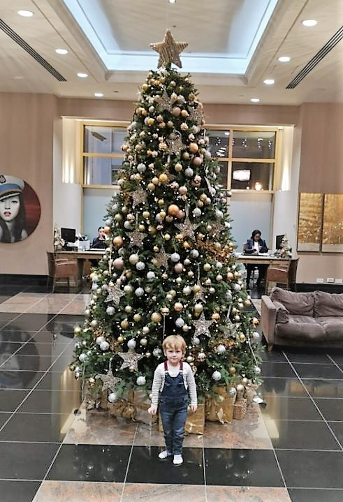 December 2019, Monthly Highlights, the Frenchie Mummy, Christmas, Chelsea, Chelsea Harbour Hotel