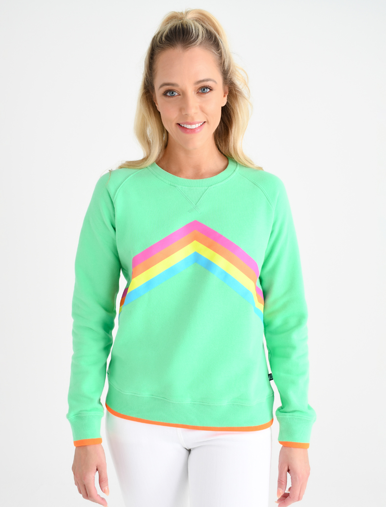 St Bert's Rainbow Sweatshirts, St Bert's Clothing, Cool Retro Clothing, Independent Shop, the Frenchie Mummy, Valentine's Day Giveaway, Win