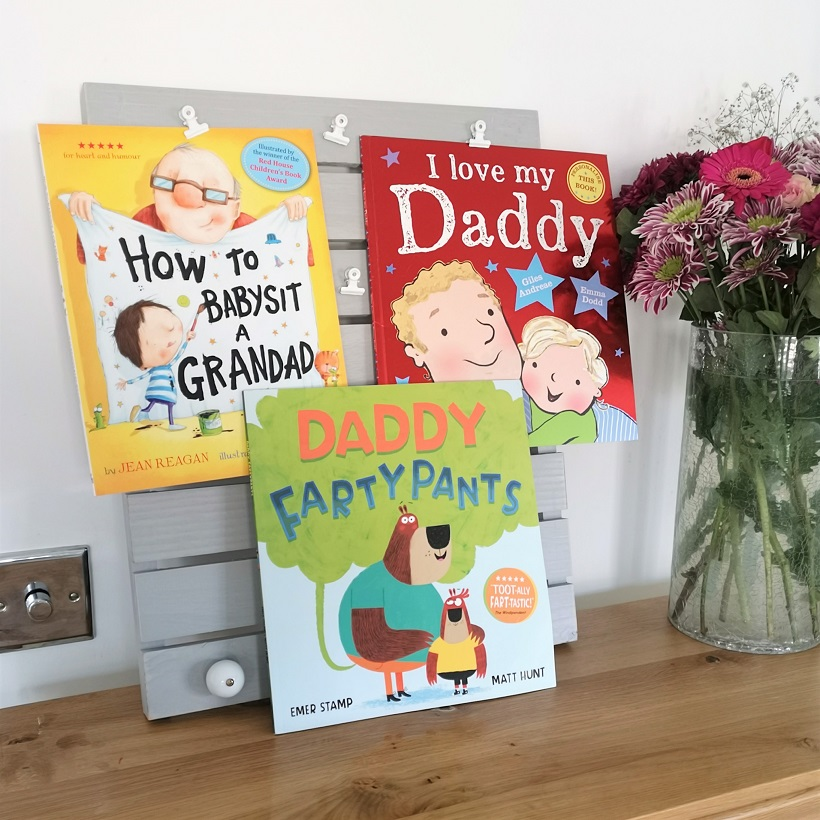 Hachette Children's Books, Father's Day, How To Babysit a Grandad, Daddy Fartypants, I Love My Daddy, Kids' Books, Hachette Children, Win, Father's Day Giveaway, Children's Books, the Frenchie Mummy