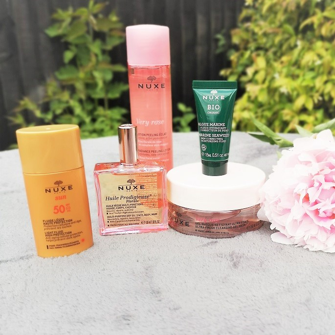 Nuxe Very Rose Beauty Set, Nuxe Paris, Organic Beauty, Huile Prodigieuse, Nuxe Very Rose, Blog Anniversary Giveaway, Win, Vegan Beauty, Organic Beauty Products, the Frenchie Mummy, Nuxe Skincare, French Brand, Very Rose