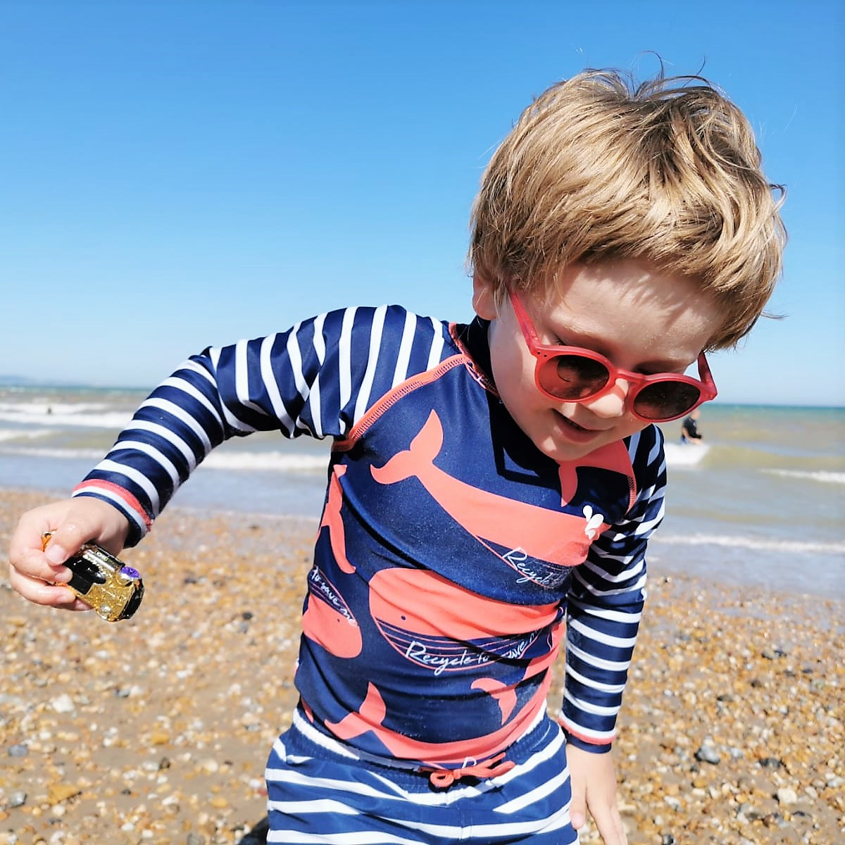 June 2020, Monthly Highlights, The Frenchie Mummy, Beach Life, Dymchurch