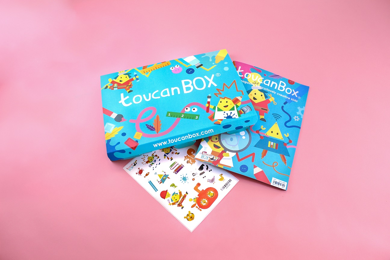 toucanBox, Art & Craft Subscription For Kids, Summer Giveaway, Kids Crafts, Games, Kids Box Subscription, Craft Activities, STEAM, Learning Through Play, the Frenchie Mummy, Kids Activities