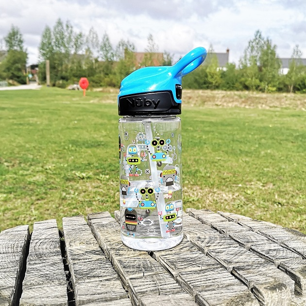 Nûby Back To School Kit, Back To School, Giveaway, Win, Nûby, Robots, The Frenchie Mummy, Water Bottle