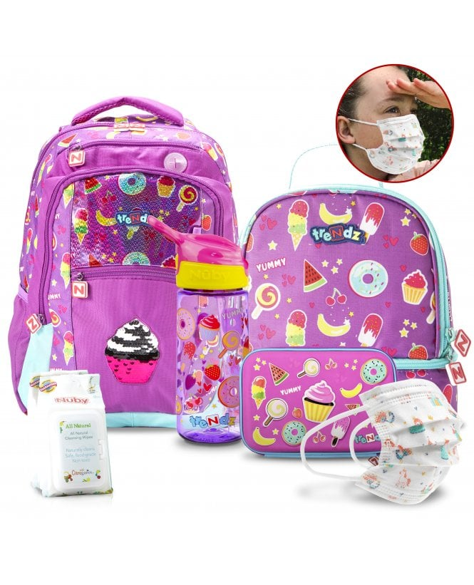 Nûby Back To School Kit, Back To School, Giveaway, Win, Backpack, School Bag, Nûby, Robots, The Frenchie Mummy