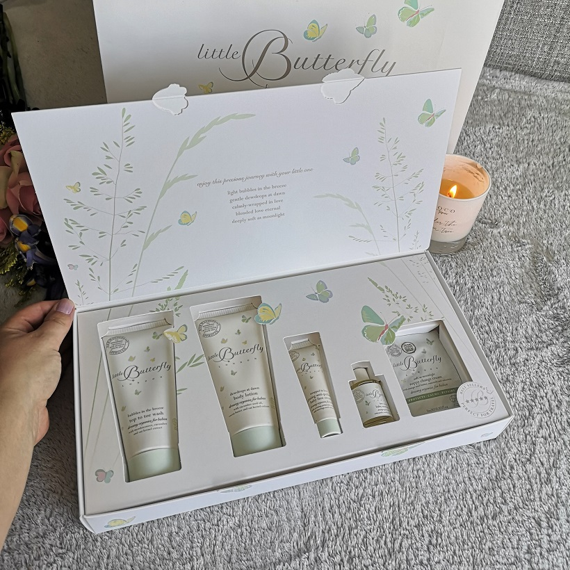 Little Butterfly 'Journey of Discovery' Gift Set, Little Butterfly London, luxury and organic-certified skincare brand, organic skincare, vegan, giveaway, win, gift set, the Frenchie Mummy