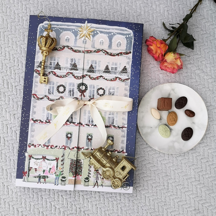 Ladurée Advent Calendar, French Brand, Macarons, French Maison, Christmas Giveaways, Win, French Luxury Bakery, Sweets Maker House, Caramels, Chocolates, the Frenchie Mummy, Ladurée