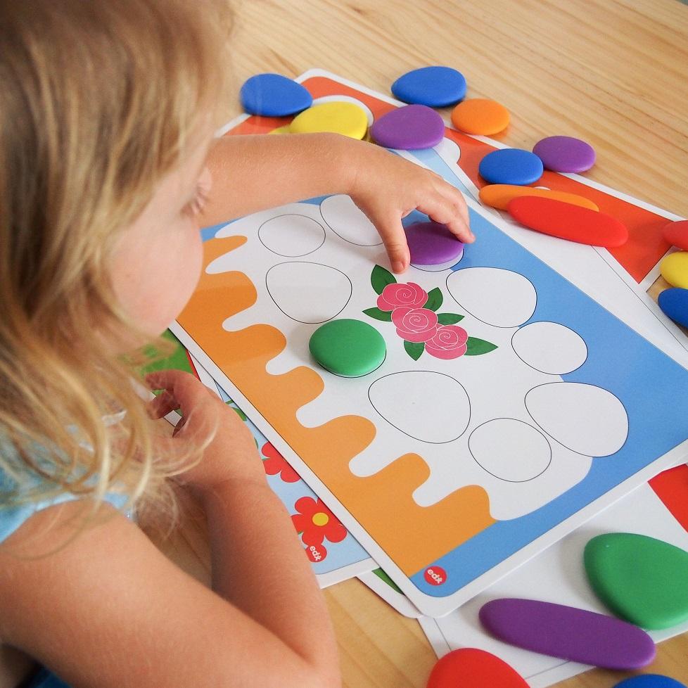 EDX Education Junior Rainbow Pebbles, EDX Education, Educational Toys, Rainbow Pebbles, Learn Through Play, Motor Skills, Toys, Christmas Giveaways, Win, the Frenchie Mummy