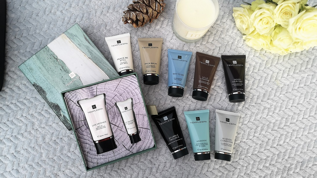 Temple Spa Collection,Temple Spa, Luxury Spa At Home, Cruelty-Free, Vegan Skincare, Award-winning Beauty Brand, Travel Set, Candle, Christmas Giveaway, Win, the Frenchie Mummy