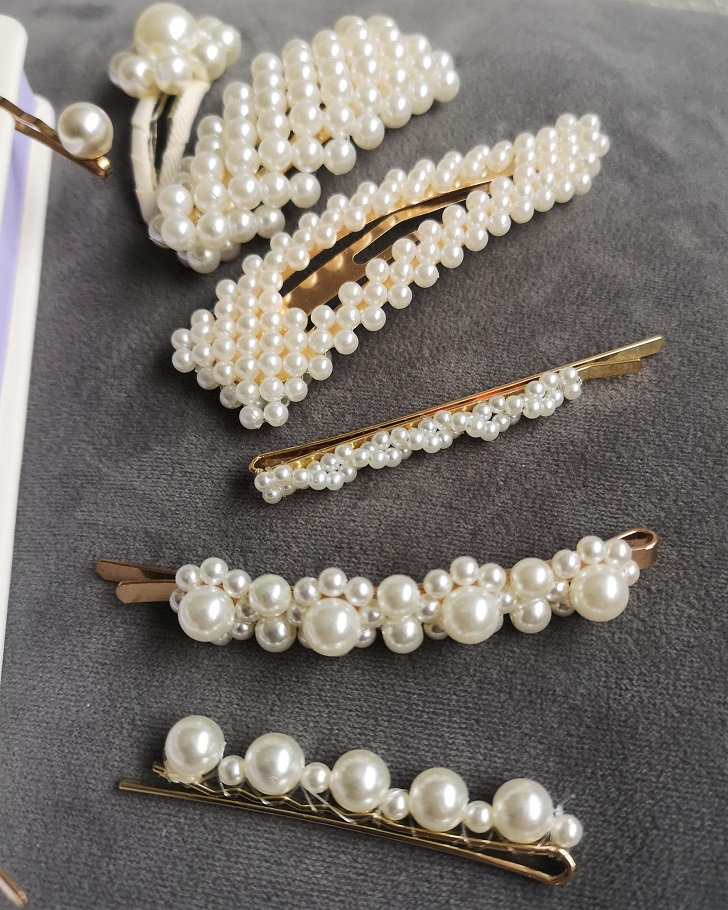 Milledeux Pearl Hair Pins Set, Pearl Hair Clip, Hair Clip, Milledeux Hair Clip, #DesignedWithLoveInDenmark, Valentine's Day Giveaway, The Frenchie Mummy, Hair Accessories