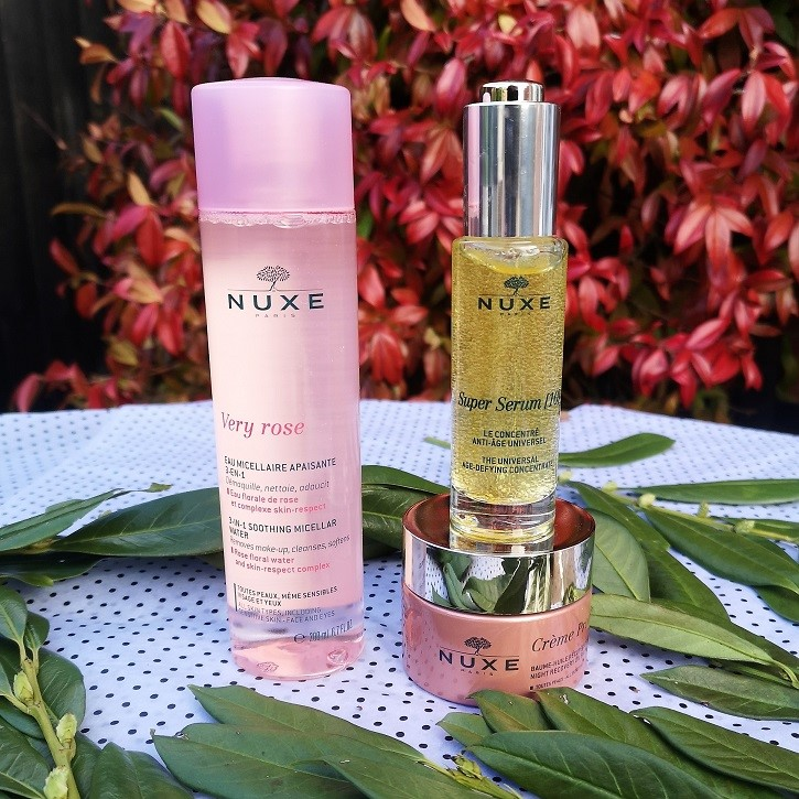 Nuxe Bestsellers Gift Set, Nuxe Paris, Organic Beauty, Vegan-Friendly, Huile Prodigieuse, Nuxe Prodigiously Floral Gift Set, Bestsellers, Nuxe Skincare, Valentine's Day Giveaway, Win, Competition, the Frenchie Mummy