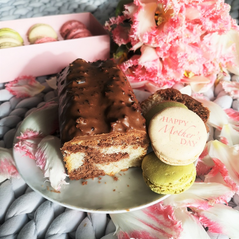 Ladurée Gift Set, Ladurée Paris, Mother's Day Gift Set, Mother's Day Gift Ideas, Made in France, Mother's Day Giveaway, Win, Competition, The Frenchie Mummy, Marble Cake, Vegan