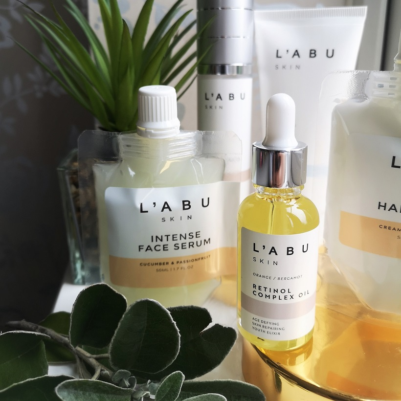 L'abu Skin Beauty Set, Luxury Organic Skincare, Cruelty-Free Beauty, paraben free, anti-ageing, Skincare, Natural Skincare, Win, Easter Giveaway, competition, the Frenchie Mummy, L'abu Skin