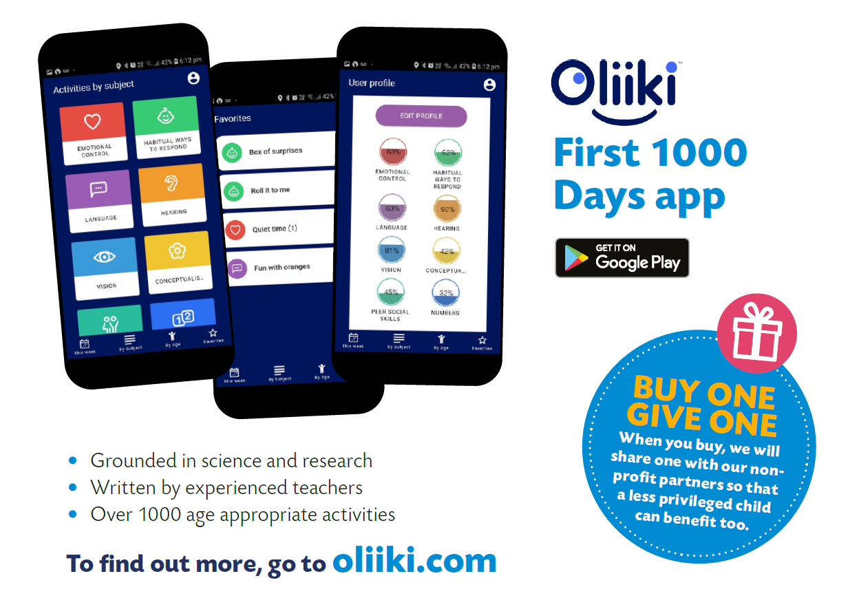 Oliiki, Oliiki App, New Parents App, First 1000 days app, Baby Brain Development, App, Parents App, Baby Activities, Mother's Day Giveaway, Win, Competition, Learn via Play, Baby, Toddler, The Frenchie Mummy