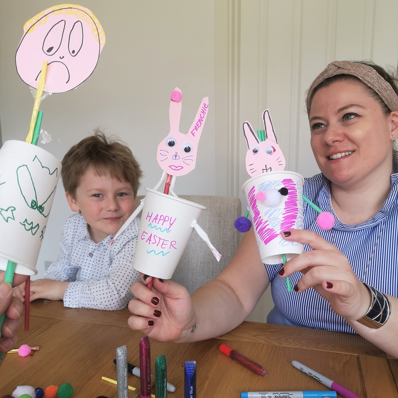 March 2021, Kent Life, Country Life, Family Time, Spring 2021, the Frenchie Mummy, Easter Crafts, At Home