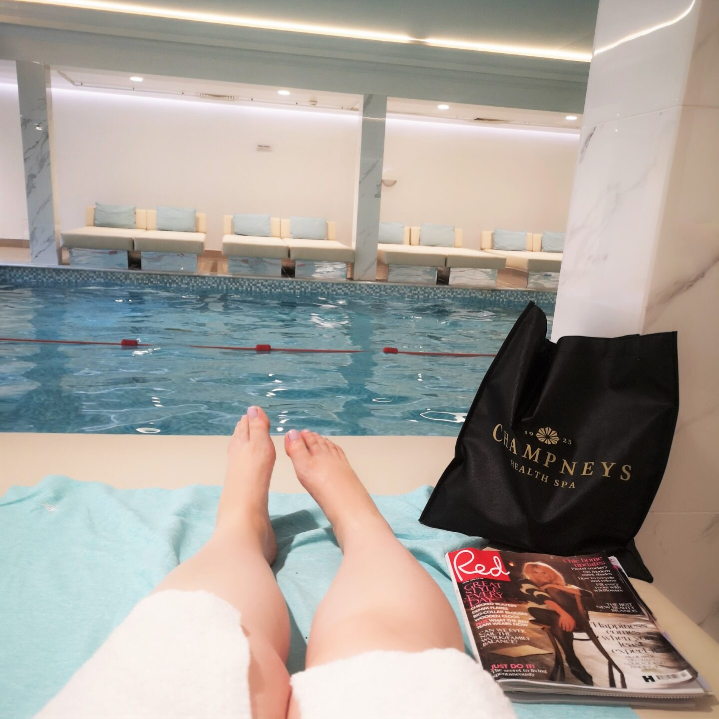 May 2021, Monthly Highlights, Spa Day, Eastwell Manor, Champneys Spa, the Frenchie Mummy