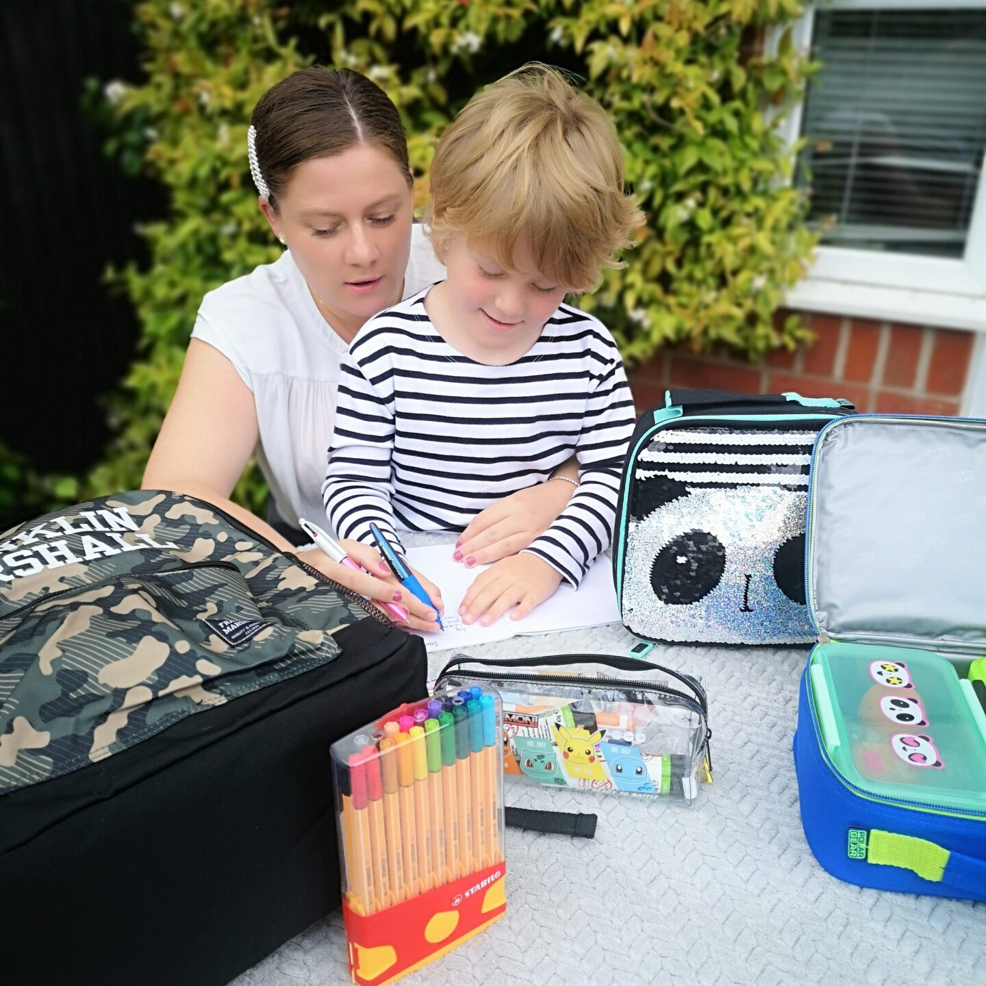 July 2021, Monthly Highlights, the Frenchie Mummy, Back To School, Stationery