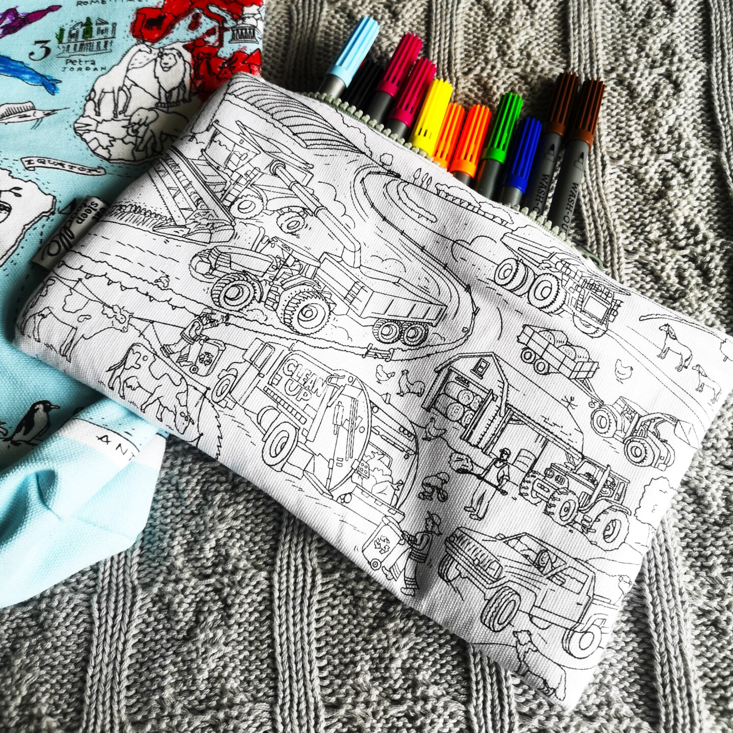 Back to School Eatsleepdoodle Set, Back To School Giveaways, Eatsleepdoodle, Doodle, Colouring Set, Textile Gifts, Colouring Fun, Kids Activity, the Frenchie Mummy, Win, Giveaway, Competition, Back to School 2021, School Stationery, Pencil Case