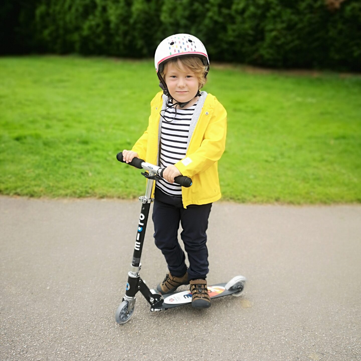 August 2021, Monthly Highlights, Summer 2021, the Frenchie Mummy, Scooting, Scooter