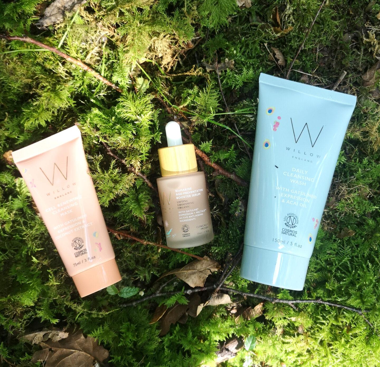 Willow Organic Skincare Set, Organic Beauty Set, Organic Skincare, Organic Beauty Products, Natural Skincare, Sorbet Glow Range, Cleansing Mask, Cleansing Wash, Bio Marine Day Serum, Beauty, Giveaway, Win, the Frenchie Mummy