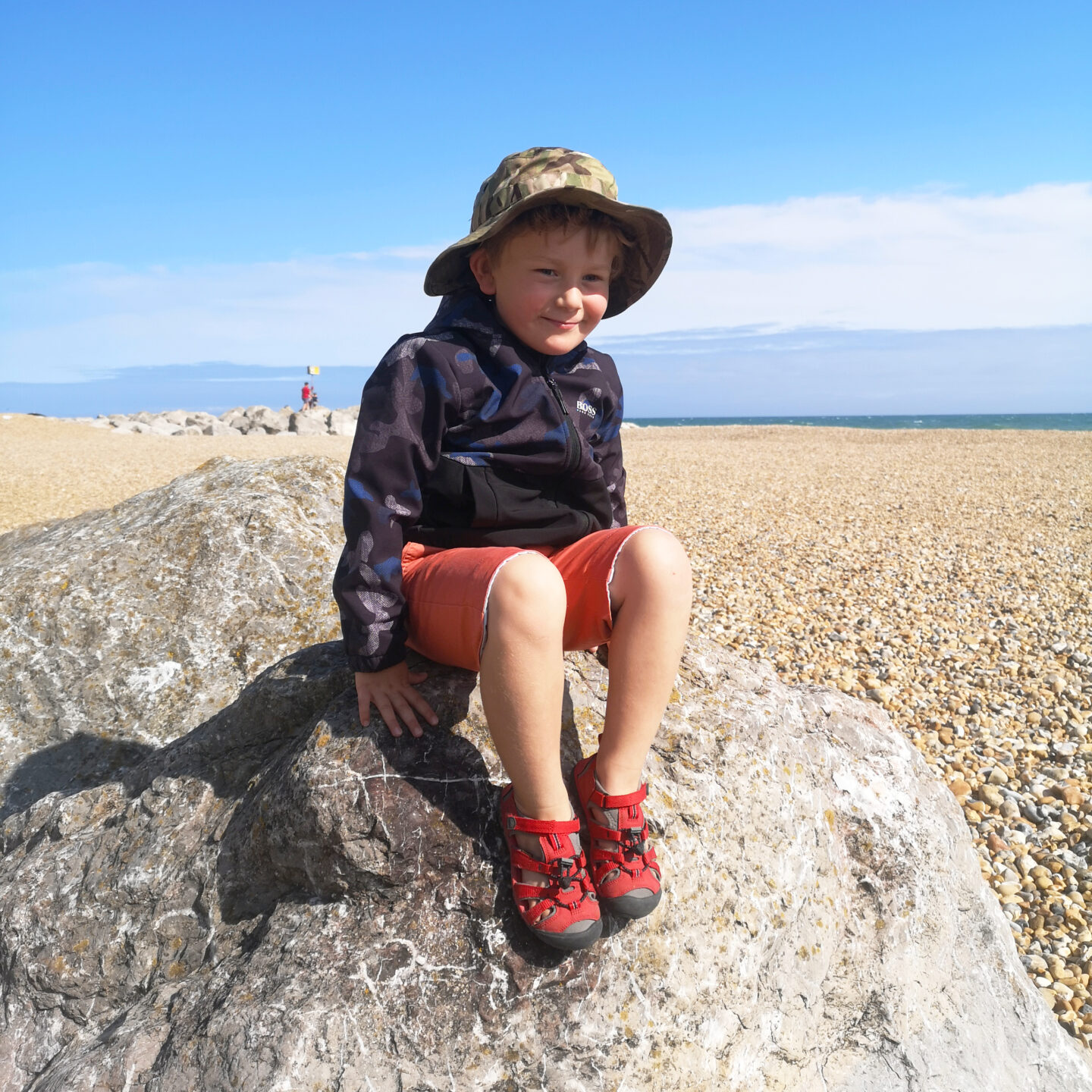 August 2021, Monthly Highlights, Summer 2021, the Frenchie Mummy, Hythe, Beach Day