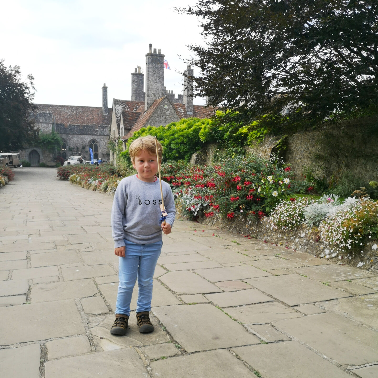 September 2021, Monthly Highlights, the Frenchie Mummy, Life in Kent, Country Walks, Lympne Castle