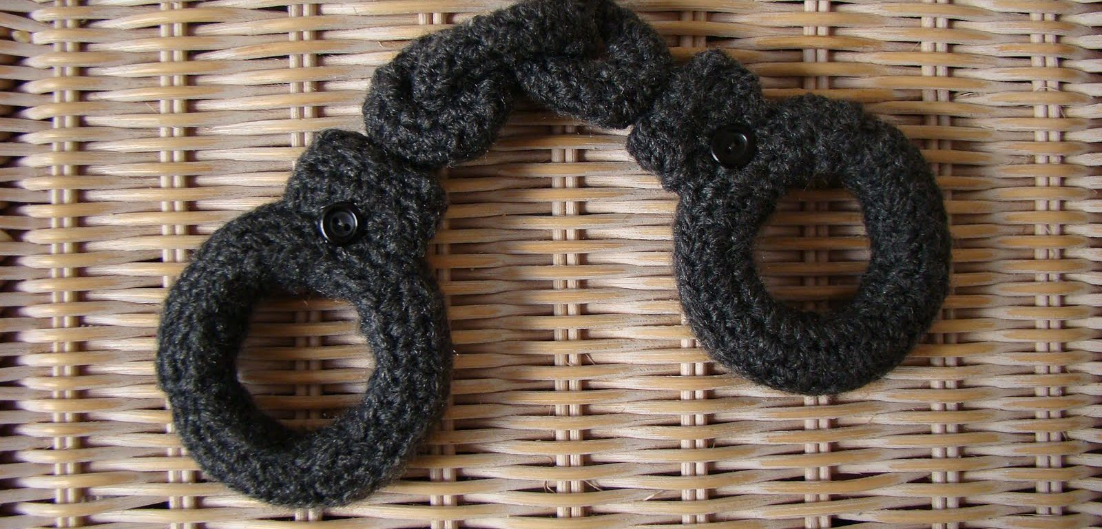knitted handcuffs