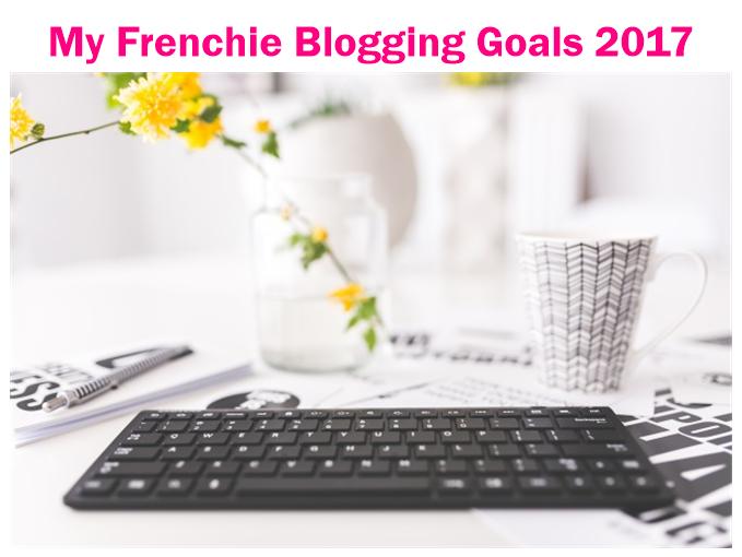 Blogging Goals 2017