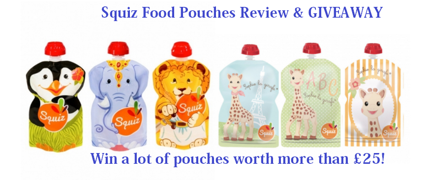 Squiz Food Pouches Review