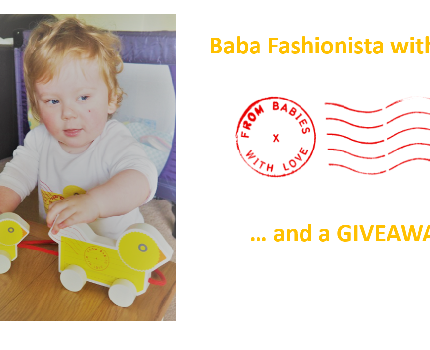 Baba Fashionista with From Babies with Love