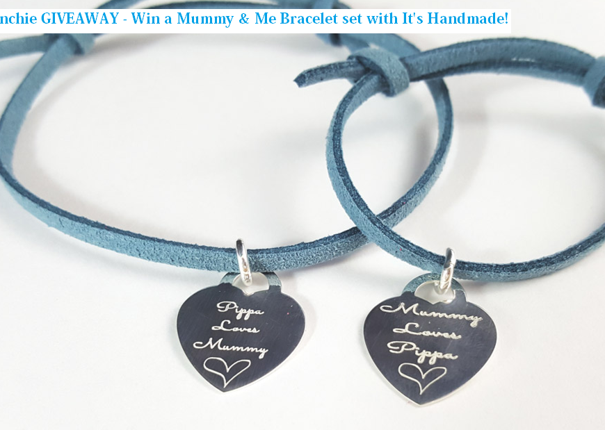 It's Handmade Mummy & Me Bracelet set Review