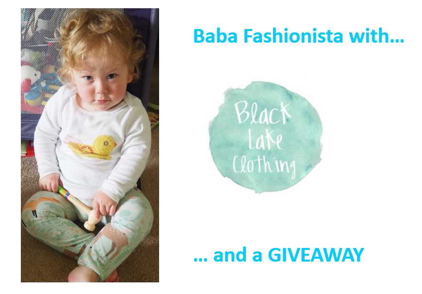 Baba Fashionista with Black Lake Clothing