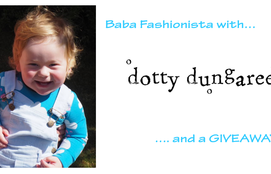 Baba Fashionista with Dotty Dungarees