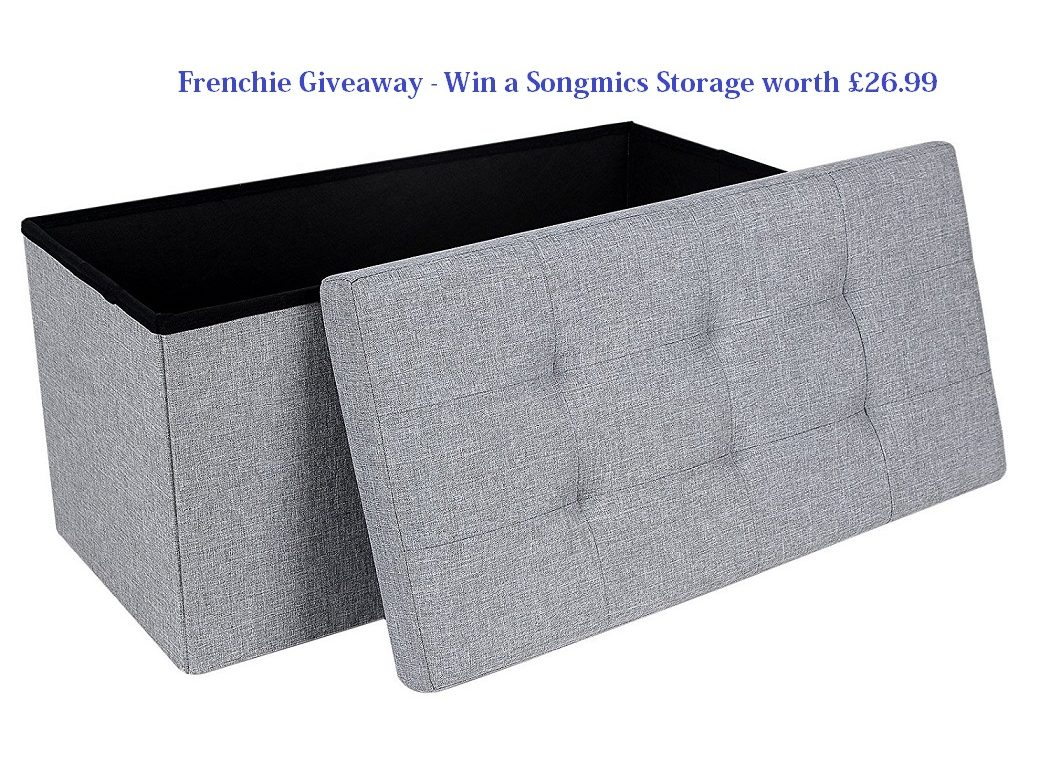 Songmics Linen Fabric Folding Storage Review