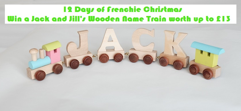 Win a Jack and Jill's Wooden Name Train