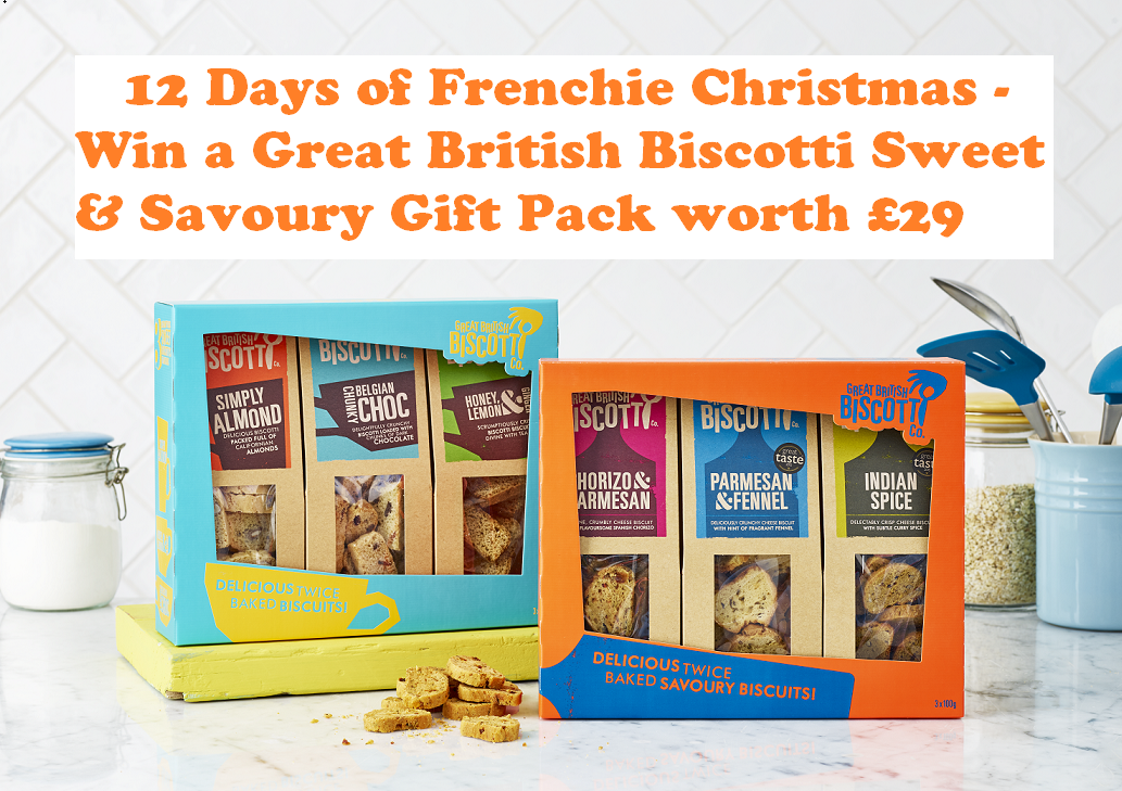 Win a Great British Biscotti Sweet & Savoury Gift Pack worth £29