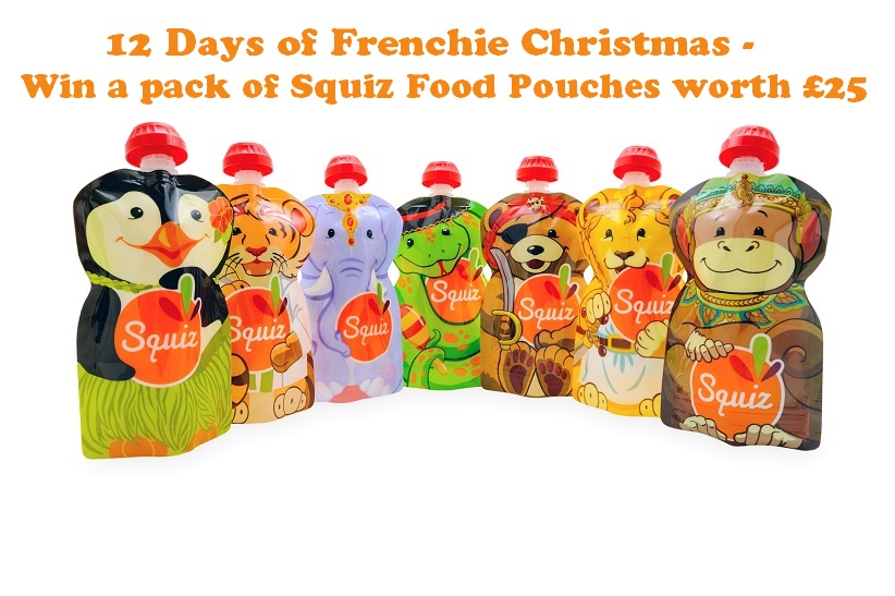 Win a pack of Squiz Food Pouches worth £25