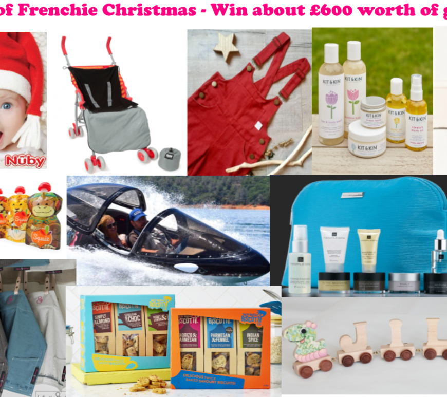 12 Days Of Frenchie Christmas