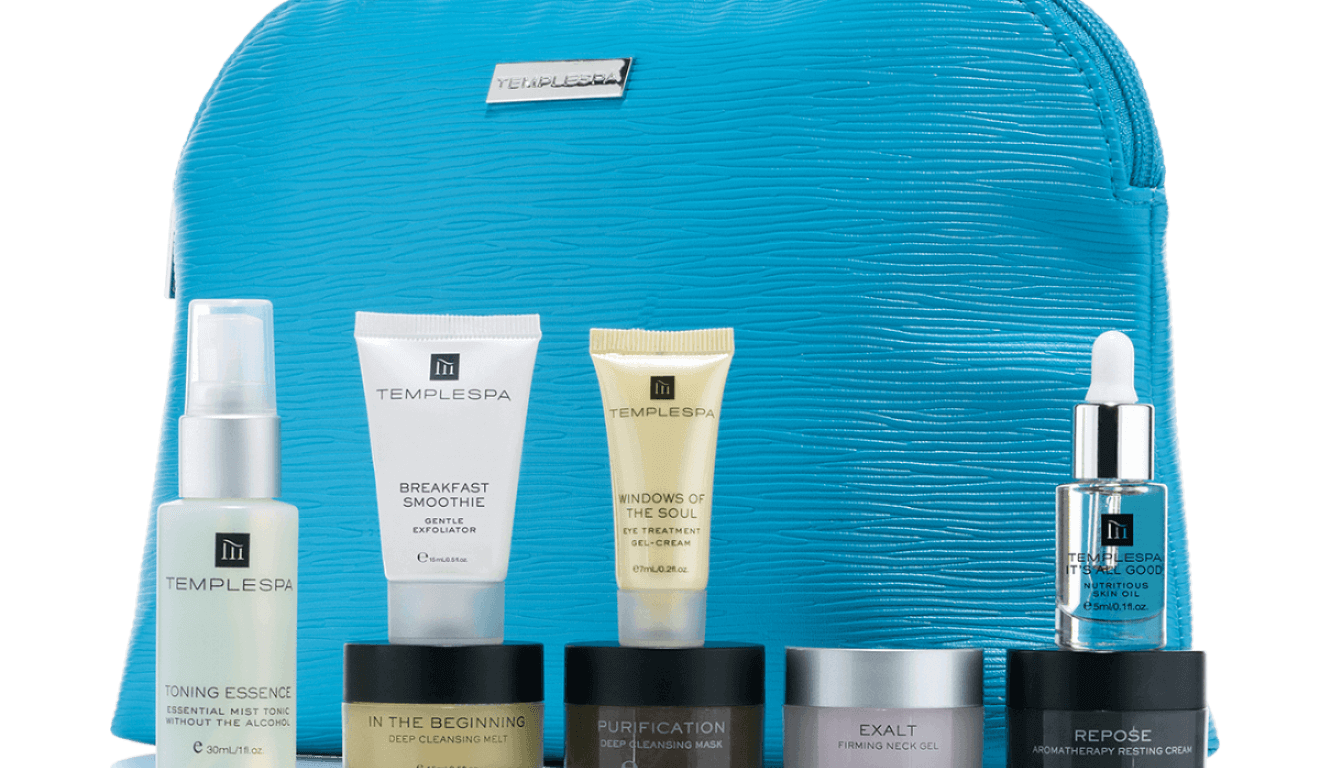 Win a Temple Spa Gift Set worth £50. skincare products, giveaway