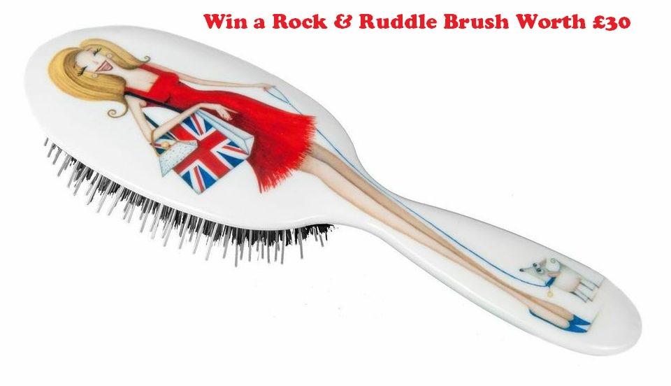 Win a Rock & Ruddle Brush Worth £30