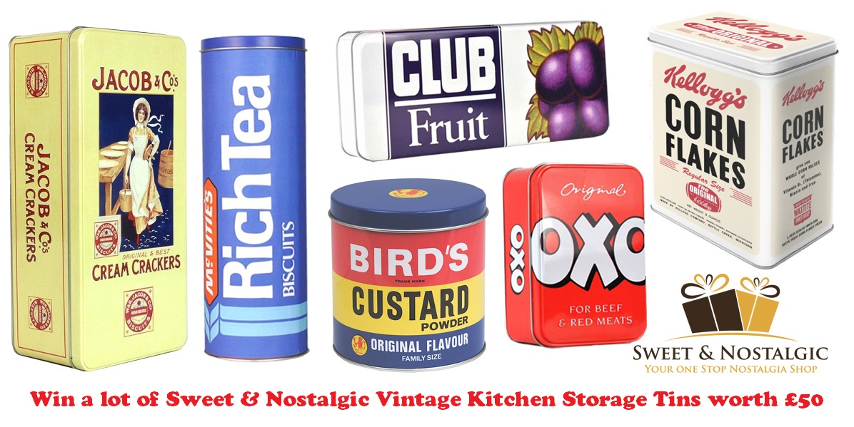 vintage kitchen storage tins s day giveaways win a lot of sweet amp nostalgic 6834