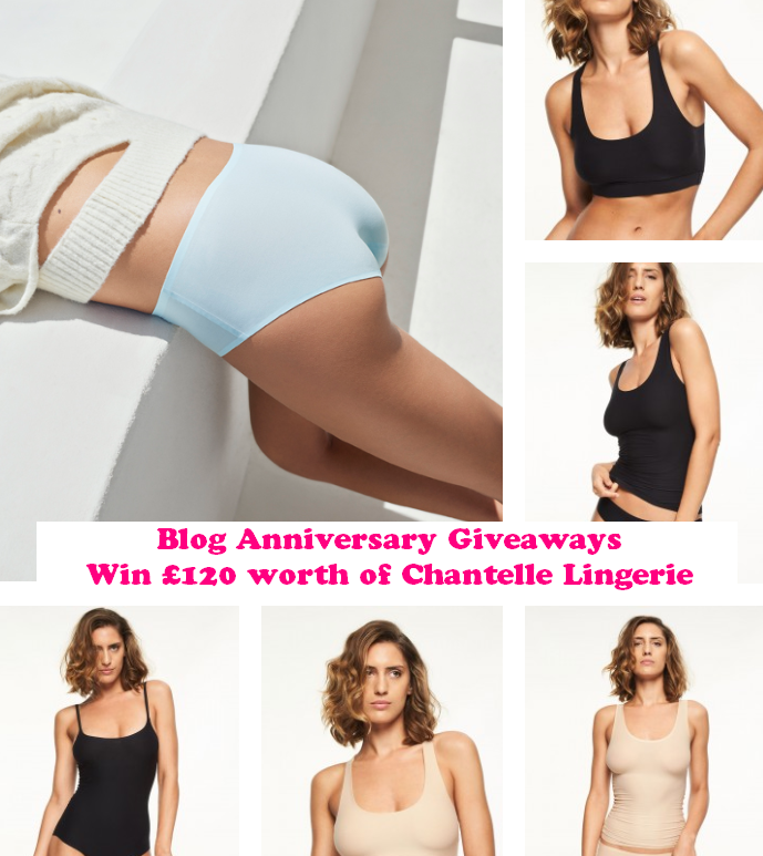 Win £120 worth of Chantelle Lingerie, Blog Anniversary, Chantelle, Soft Stretch Range, French Lingerie, Giveaway, The Frenchie Mummy