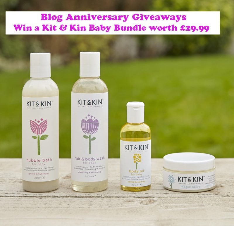 Win a Kit & Kin Baby Bundle, Eco-Friendly Baby Products, Giveaway, Natural Skincare, The Frenchie Mummy, Kit & Kin